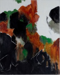 "Rockslide In Topanga -  2008 Oil - 50"" x 40"""