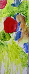 Left Side of Slipped Diptych 