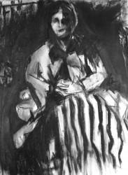 "Cezanne  Influence  2012  Mixed Media   -   30"" x 22"""