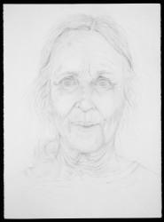 "Lucy B   2001 Graphite   30"" x 22'"